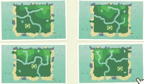 あつまれどうぶつの森マップ選択